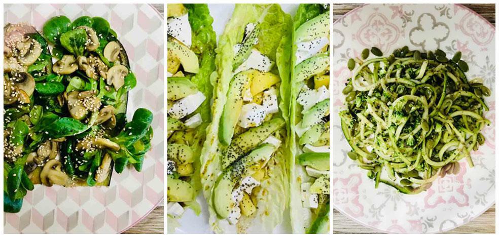 Cocina en casa tres ensaladas de lo más saludables