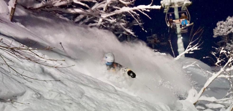 ¿Te vienes a esquiar a Japón?