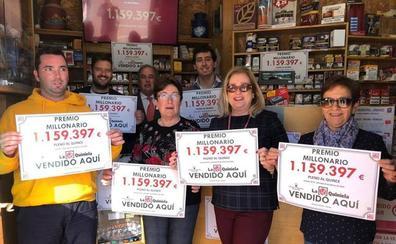 Sellado en Oruña un boleto con Pleno al Quince que recibirá 1,1 millones
