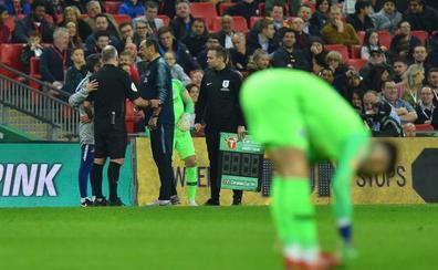Sarri aclara que el Chelsea «no quiere matar» a Kepa