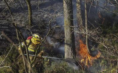 Más fuegos y más riesgo