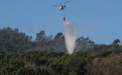 Cuatro incendios permanecen activos en Cantabria, uno en el Parque Natural de Picos de Europa