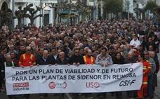 Más de 2.000 personas exigen en Reinosa «transparencia» sobre la futura venta de Sidenor