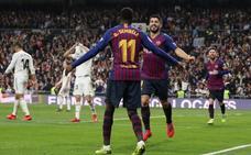 El Barça aniquila a un Madrid sin pegada