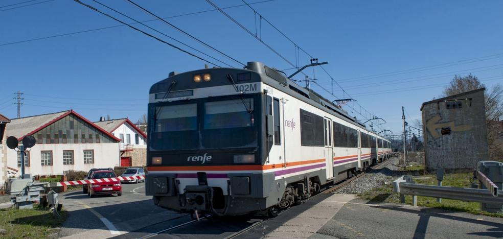 El tren que sustituyó al que se llevaron a Cataluña ya ha sufrido dos averías
