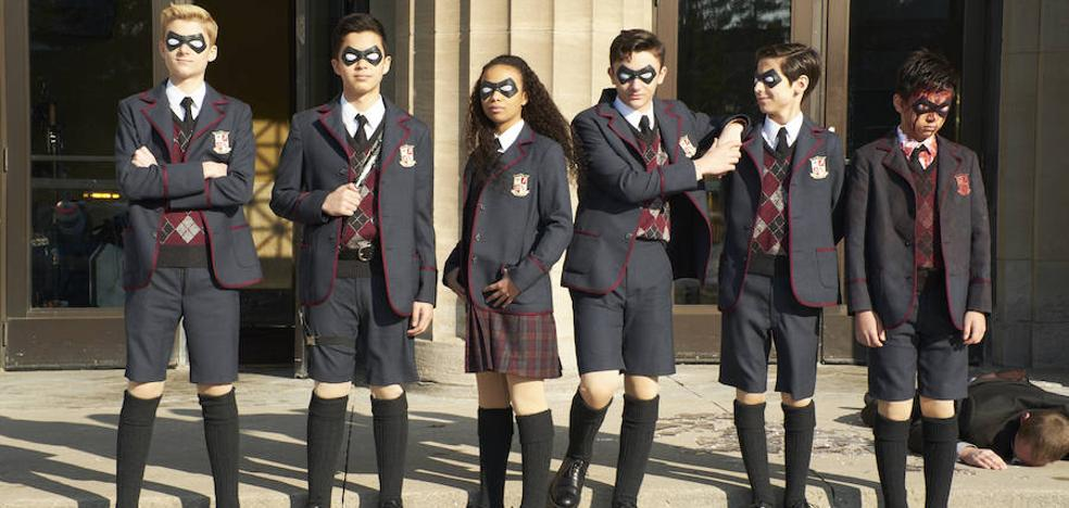 'The Umbrella Academy': «Los X-Men para la gente cool»
