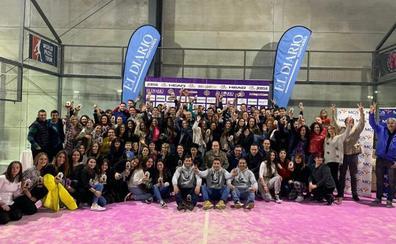 La Liga de Pádel aficionado cierra su primera edición con 1.400 participantes