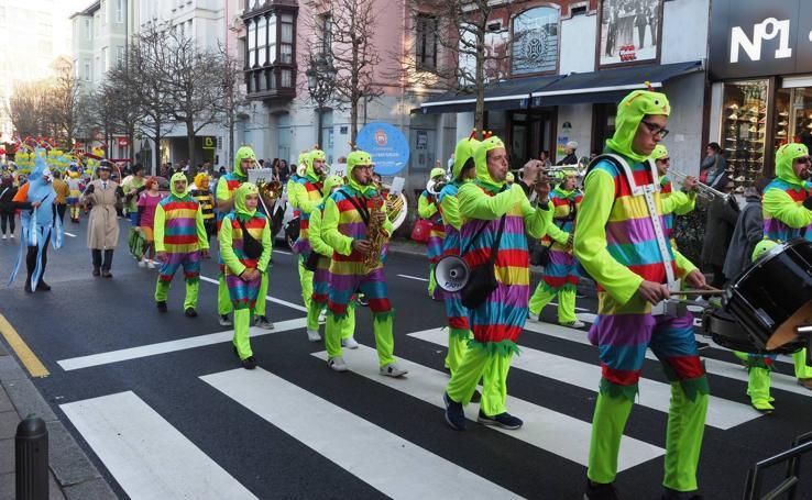 El carnaval conquista El Astillero