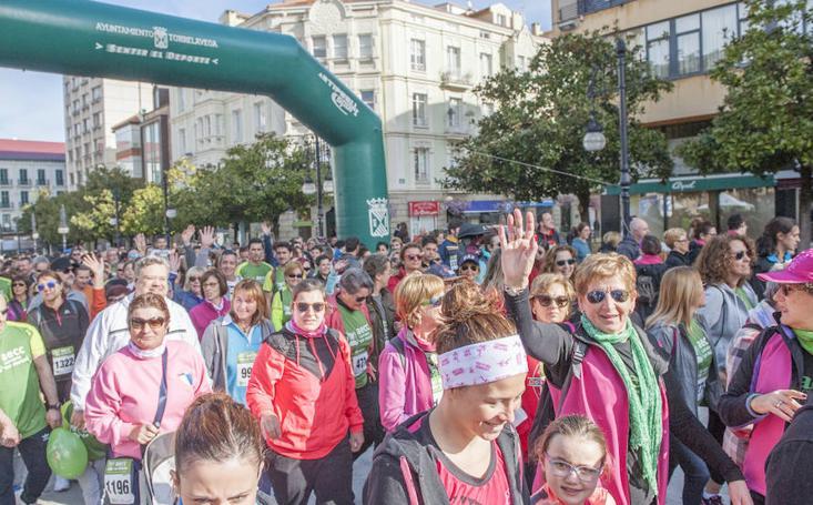 Torrelavega acoge la V Marcha Contra el Cáncer este domingo