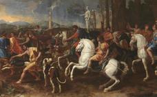 El Museo de Altamira exhibe durante un mes 'La caza de Meleagro' cedida por El Prado