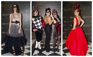 Las máscaras más elegantes conquistaron Santander