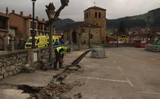 Las obras que el Gobierno ejecuta en Liébana superan los 1,6 millones de euros