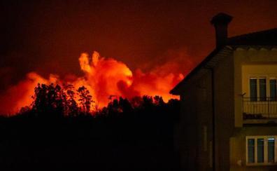 Otro fin de semana de incendios con 30 fuegos desde el viernes en Cantabria