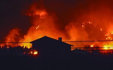 «Teníamos las llamas a unos metros de casa, casi arrasan con todo»