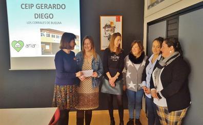 Amara Cantabria recibe 4.603 euros de la Carrera Solidaria del colegio Gerardo Diego