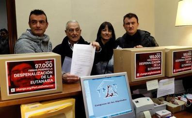 Muere la mujer cuya familia llevó al Congreso 182.000 firmas para despenalizar la eutanasia