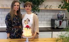 Decoramos una tarta con merenguitos en compañía de la bloguera Laura González Quintana