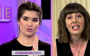 Natalia Ferviú y Paloma González se enzarzan en una pelea en plena calle