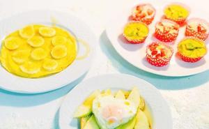 Un desayuno original y hecho en casa a base de huevos