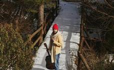 Willy Naves desafía al frío