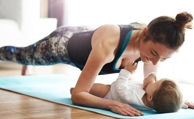 Cinco ejercicios postparto para recuperar la figura