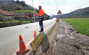La carretera de acceso al valle de Cabuérniga se abrirá 15 horas al día desde el sábado