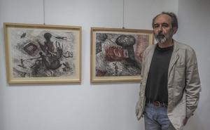 El universo de Santibáñez, las criaturas frente a la bestialidad, en la Fundación Bruno Alonso