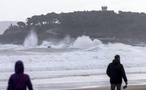 Santander activa esta tarde el protocolo por temporal marítimo