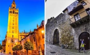 Laredo y Sevilla firman el protocolo de hermanamiento en la villa pejina