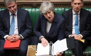 El Parlamento británico rechaza el 'brexit' sin acuerdo