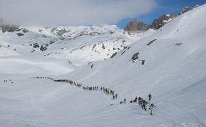 La Travesía Andres de Regil pone a prueba a los mejores esquiadores este fin de semana