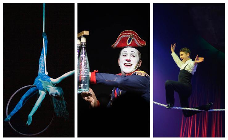 El Circo Italiano convertirá en realidad el espectáculo 'Sueños' en Santander