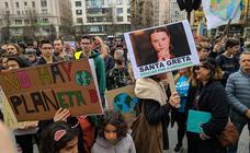 Manifestación de los jóvenes para luchar contra el cambio climático