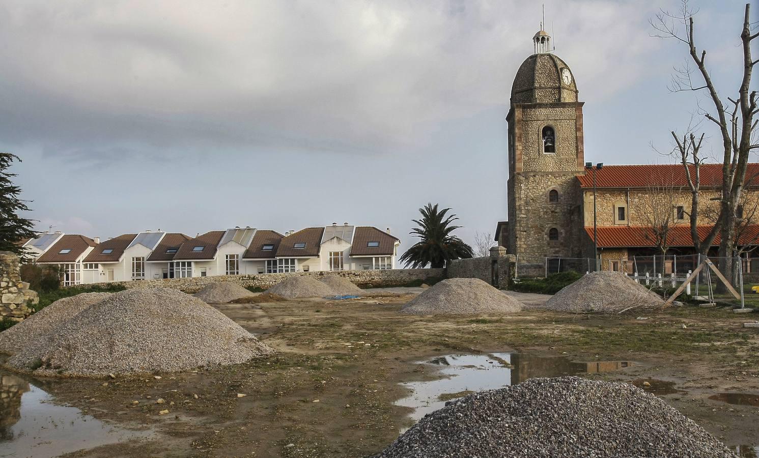 Cs denuncia al alcalde de Suances por ejecutar un aparcamiento sobre un yacimiento arqueológico