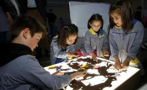 El colegio El Salvador estrena luces led