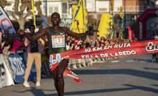 Stephen Kissa gana los 10 Km en ruta de Laredo con la mejor marca del año