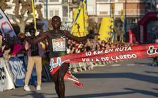 Stephen Kissa gana los 10 kilómetros de Laredo con la mejor marca mundial del año