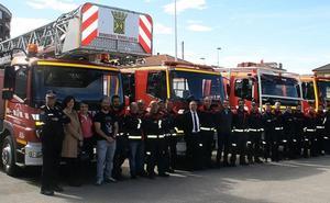 El Gobierno incrementa en 75.000 euros la ayuda al Parque de Bomberos