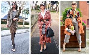 Las 'Power Woman Style' se apuntan a la mezcla de estampados