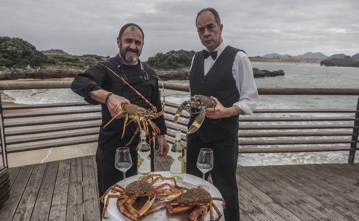 El delicioso sabor del centollo del Hotel Alfar de Isla