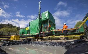 Arrancan los sondeos de la mina de zinc del Besaya