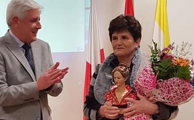 Milagros Lombera, 'Mujer Destacable' de Ampuero 2019