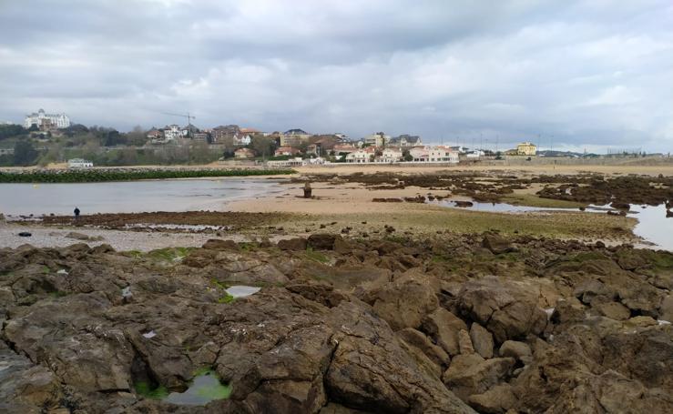 Espectaculares bajamar y pleamar en la bahía de Santander