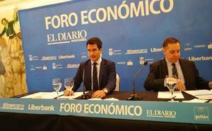 En directo, Pablo Gimeno en el Foro Económico de El Diario Montañés