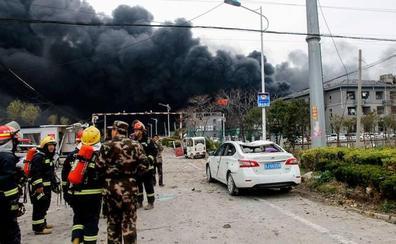 Al menos 47 muertos en una explosión en una fábrica de pesticidas en China