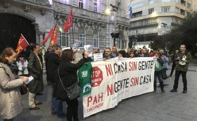 La PAH convoca una manifestación el sábado en Santander para que se apruebe la Ley de Vivienda