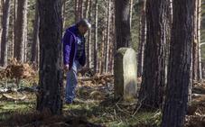 Las lápidas olvidadas de Bustillo del Monte