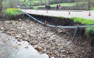 Los Corrales se pone manos a la obra para reparar los daños del último temporal