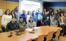 Cincuenta estudiantes cántabros de FP participan este año en el programa Erasmus+