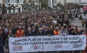 Los sindicatos de Sidenor piden a la empresa una «reunión urgente» con los interesados en comprar la planta de Reinosa